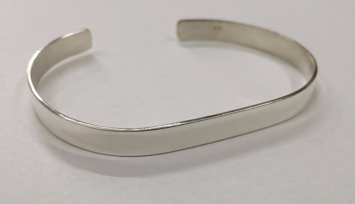 0b23eac2f39a pulsera esclava pinza plata 925 - ideal para grabar nombres. Cargando zoom.