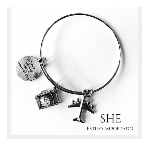 pulsera every journey starts with a single step