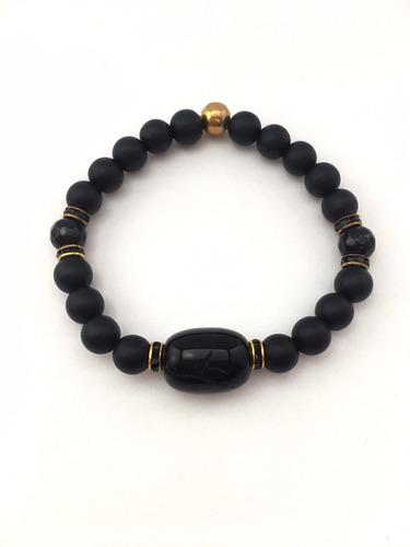 pulsera golden king - mr. thompson accesorios para hombres