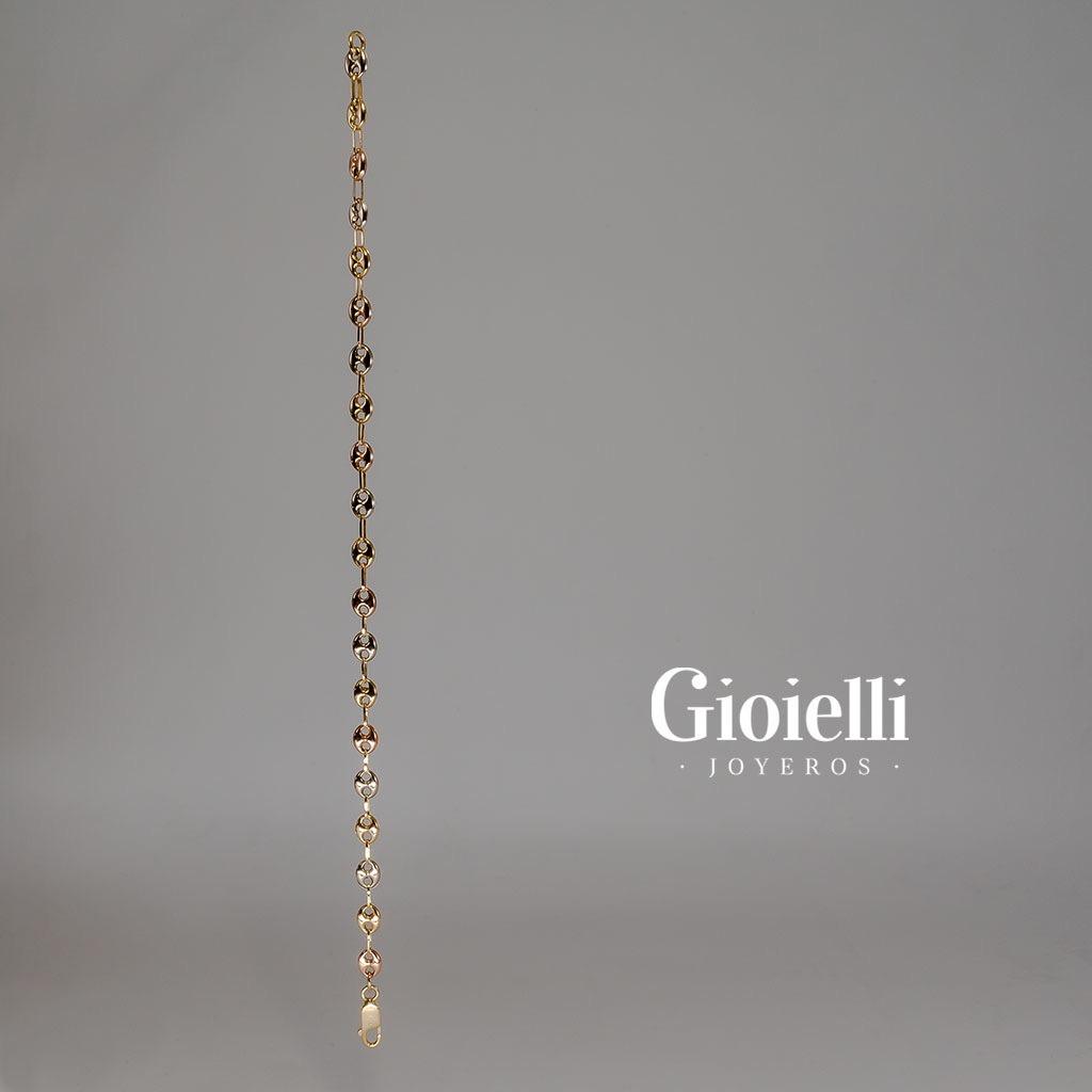 9688da189d39 Pulsera Gucci 3 Oros 18k -   1.185.900 en Mercado Libre