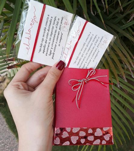 pulsera hilo rojo del destino (incluye 2 pulseras y envio)