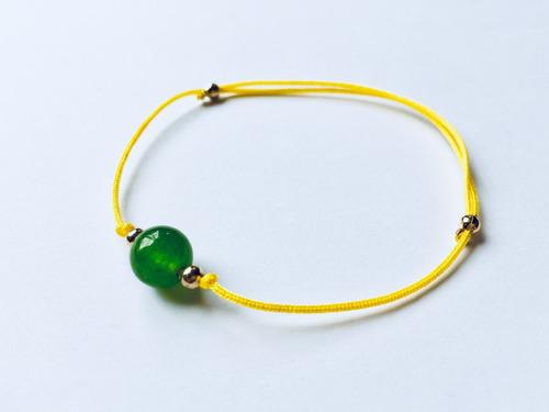 pulsera hilo rojo y colores cuarzo jade mayoreo con envio