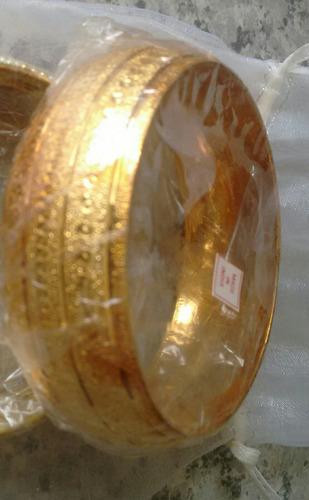 pulsera hindú dorada