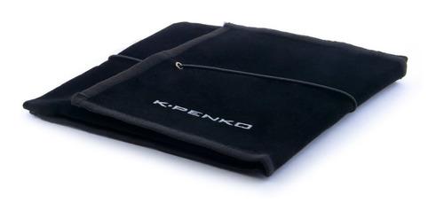 pulsera hombre ecliptic acero inoxidable placa negra k-penko