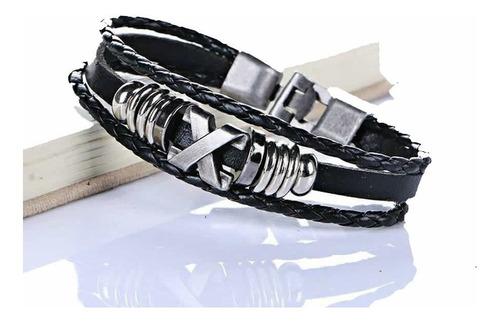 pulsera hombre fashion x acero