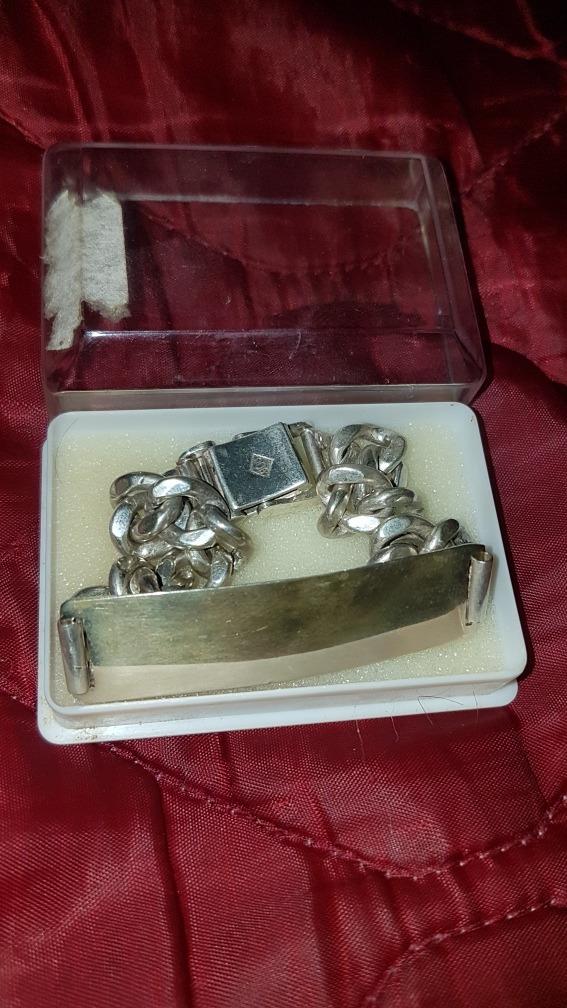 ddf5094edea8 pulsera hombre plata 900 antigua joyas. Cargando zoom.