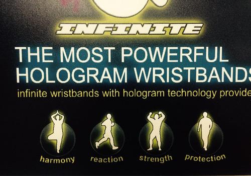 pulsera infinite deportiva estabilidad equilibrio x 10 o mas