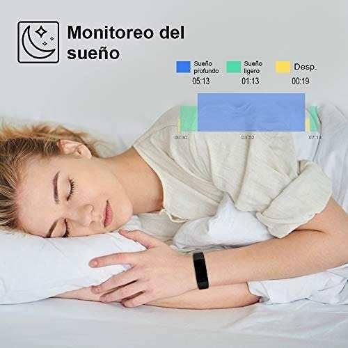 pulsera inteligente ip68 smartwatch, reloj podometro 958
