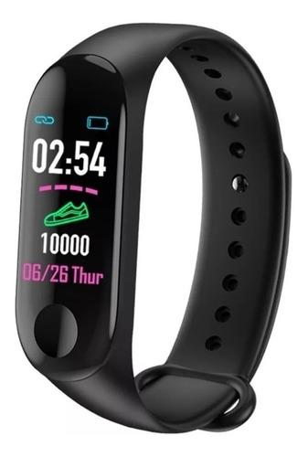 pulsera inteligente m3 hd -color smart watch fitness monitor