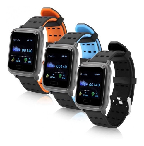 pulsera inteligente monitor fitness sumergible oled