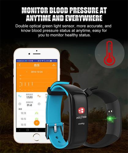 pulsera inteligente p1, pulsaciones y presión sang. mundotek