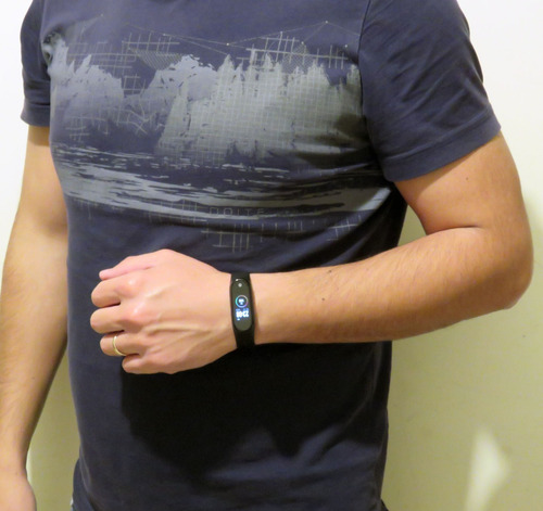 pulsera inteligente smart band reloj m4 multi deporte ip67