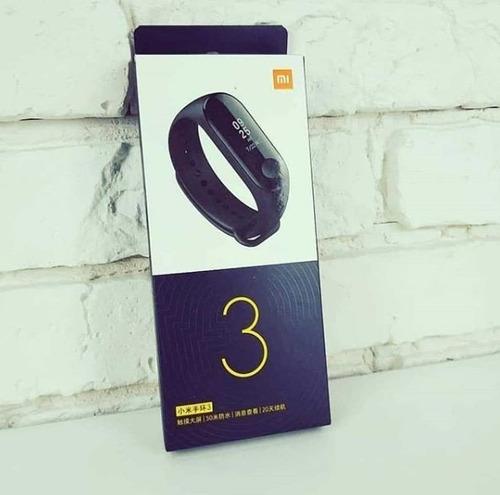 pulsera inteligente xiaomi smart mi band 5 original + tienda
