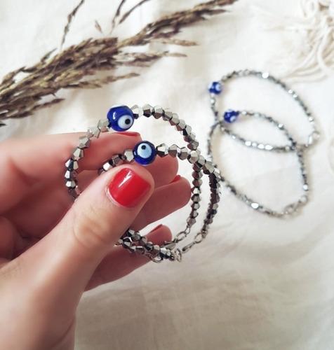 pulsera julia (ojito turco)
