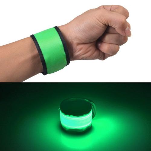 pulsera led luminoso palmada patente circulo deporte claro