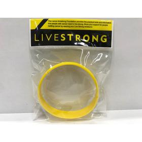Pulsera Livestrong Live Strong Silicon Amarillo Grande Xgran