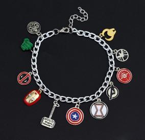 951292660420 Pulsera Marvel - Iron Man Thor Capitán America Avengers Loki