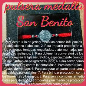 bb74c265d4f7 Pulsera Medalla De San Benito - Joyería en Mercado Libre Colombia