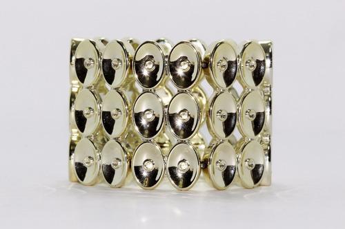 pulsera moda hojuelas doradas  pc444