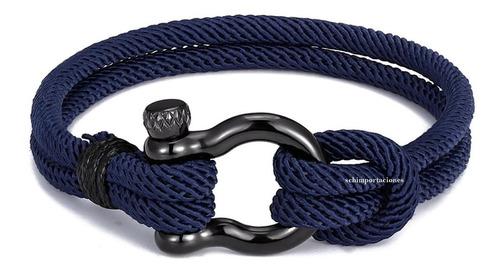 pulsera moda militar naval paracaidista, acero* deportiva m4
