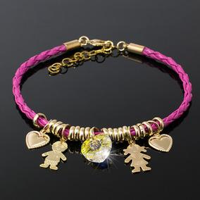 bba1a62b2f0d Pulseras Mujer En Oro Italiano - Relojes y Joyas en Mercado Libre Colombia