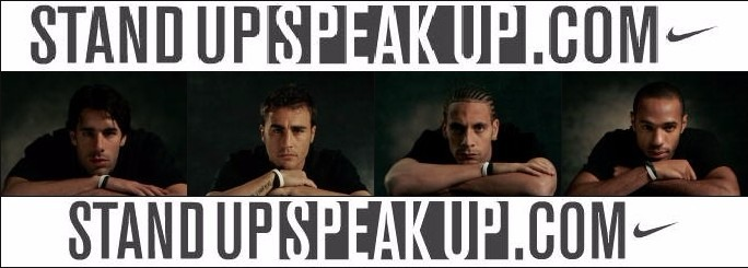 Pulsera Nike Stand Up Speak Up Antirracismo Ronaldinho Nueva ... d2a57208152a6