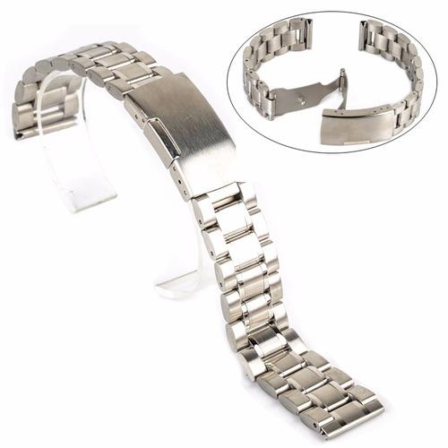 pulsera o brazalete acero inox 24mm alta calidad macizos