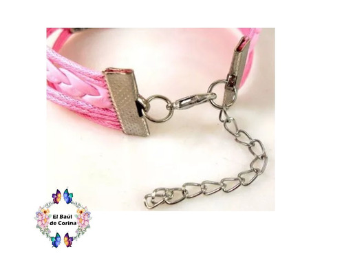 pulsera one direction  eco-cuero  (030302) elbauldecorina