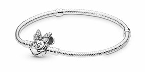a963b32c136f Pulsera Original Pandora Disney Minnie Mouse Plata Esterlina