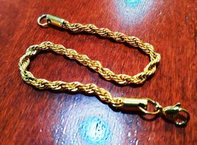 5c0e43584b7b Pulsera De Oro 18 Kilates Y Plata 900 Joyas Pulseras - Joyas y Relojes en  Mercado Libre Argentina