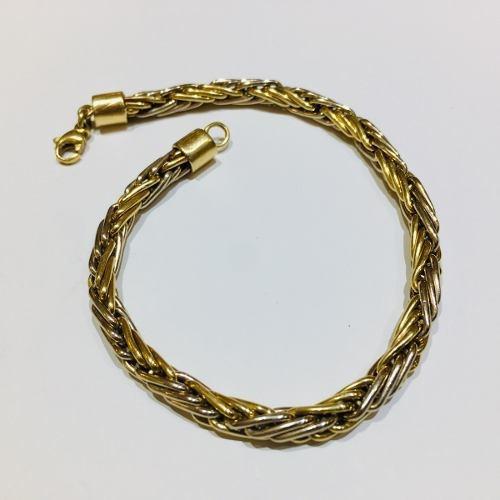 pulsera oro 18k 20cm 12,6 gramos mujer garantía puor041