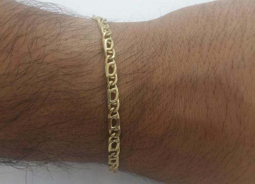 pulsera oro amarillo 18k -tipo juliana- 5,0 grs- pu11