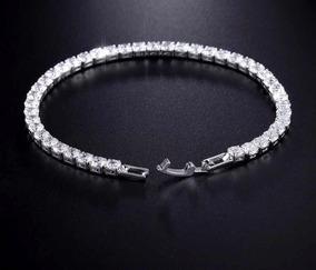 b8f309b07ebe Pulseras De Oro Diamantado Italiano - Joyas y Relojes en Mercado Libre  México