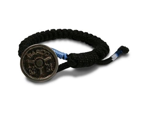pulsera para hombre barod de nailon color negro