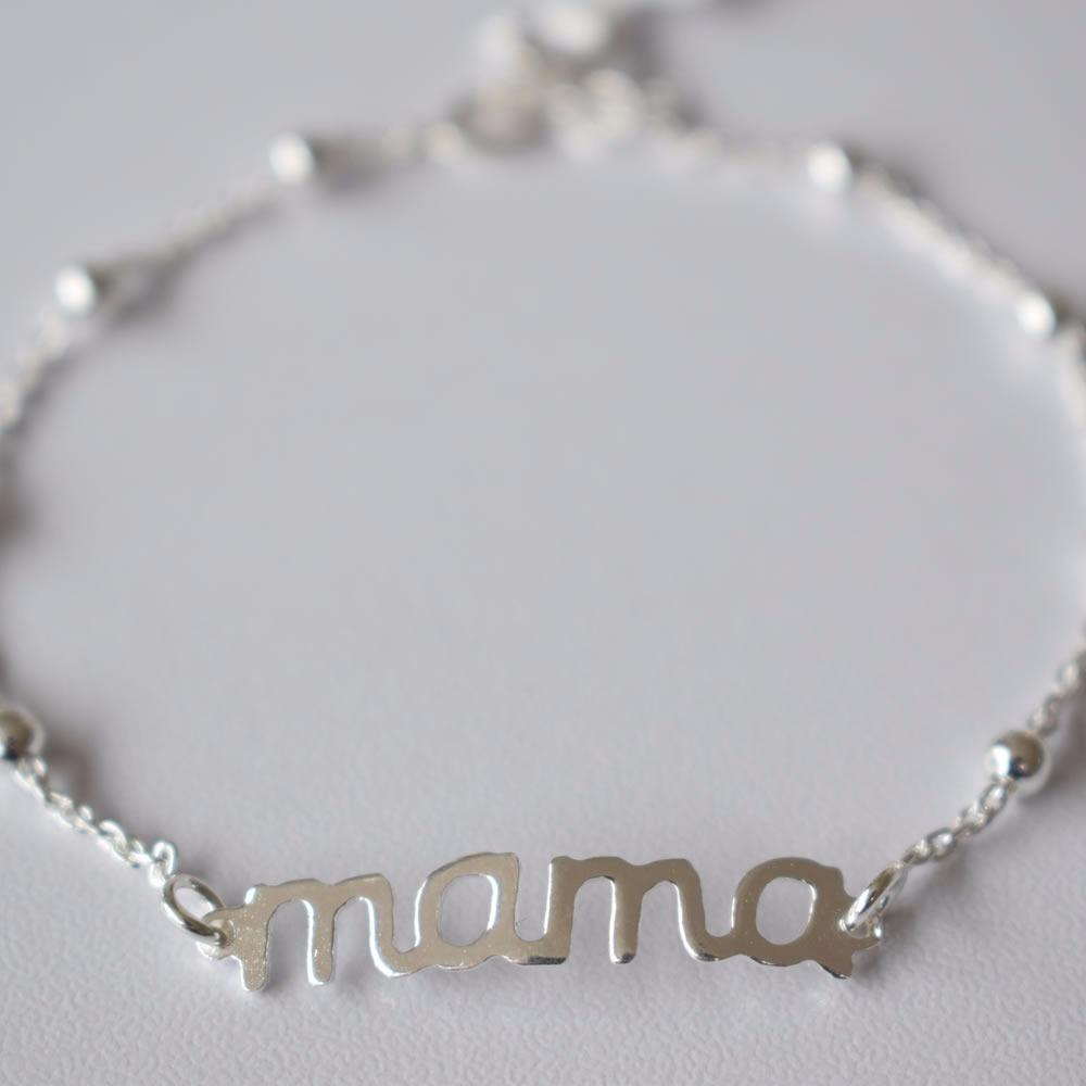 b98d9c229a85 pulsera para mamá - plata italiana 925. Cargando zoom.
