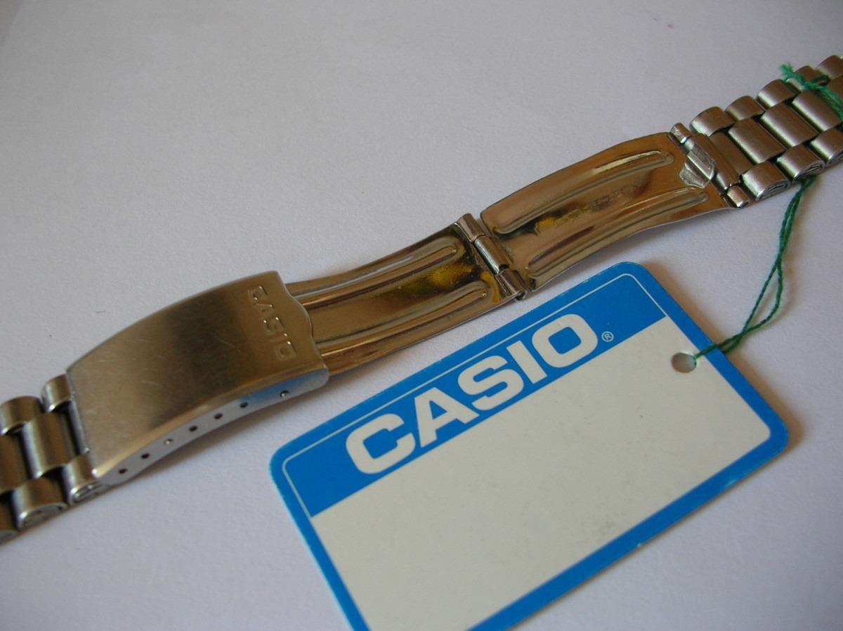 1c73b2be3f28 Pulsera Para Reloj Casio De Acero Inoxidable De 18 Mm -   14.000 en ...