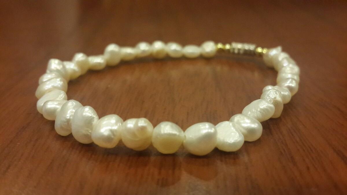 8e31a8ba3984 pulsera perlas naturales. Cargando zoom.