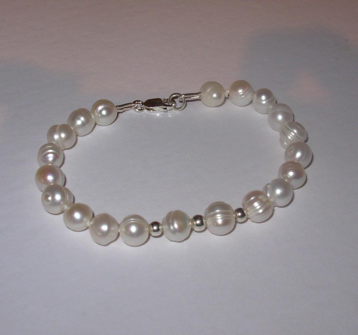 740be05e19d0 pulsera perlas naturales cultivadas y plata pyn. Cargando zoom.