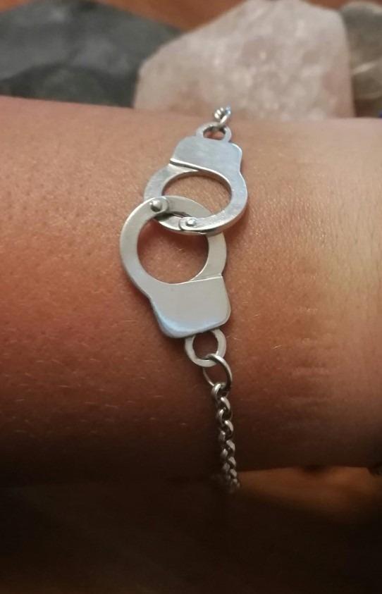 b53c3ba19149 pulsera plata 925 dije esposas lista para regalo. Cargando zoom.