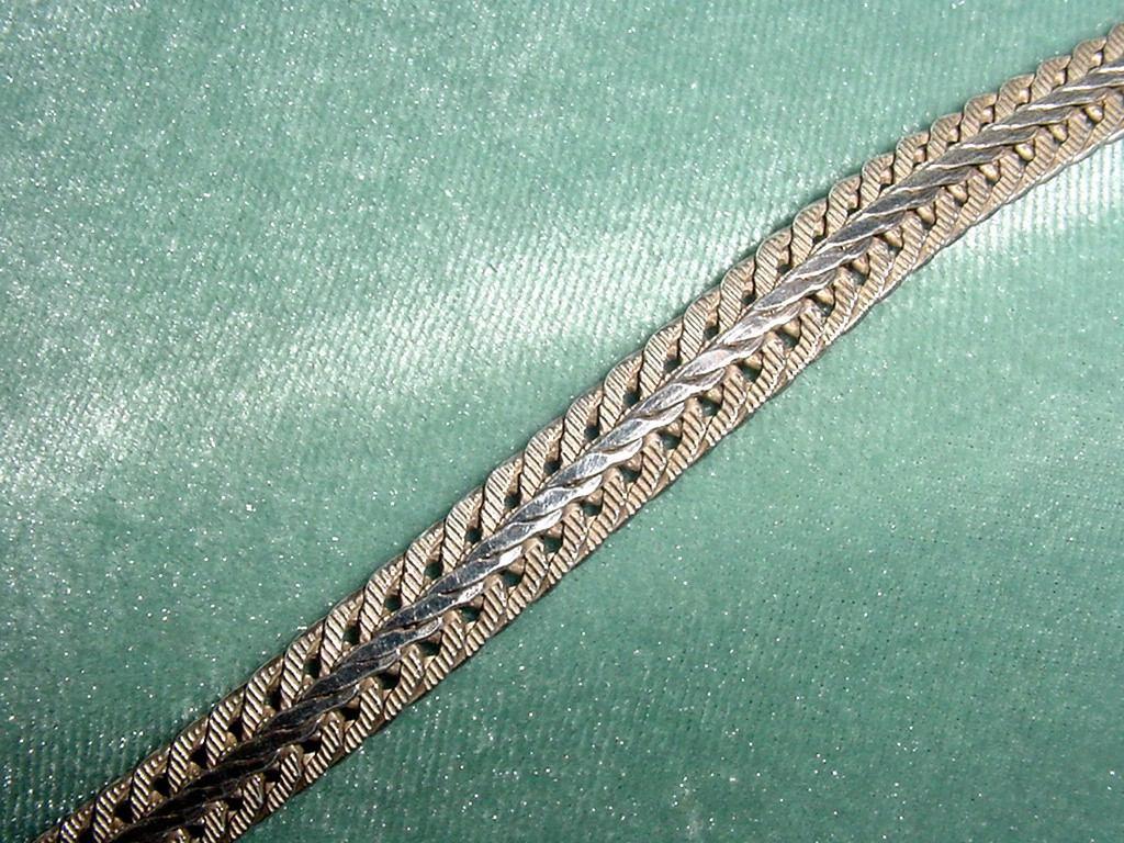 1ea045f22a67 pulsera plata 925 italy joya italiana bello diseño doble faz. Cargando zoom.
