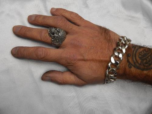 pulsera plata 925(ojo de mar)