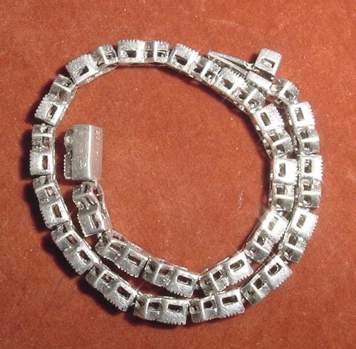 pulsera plata joya