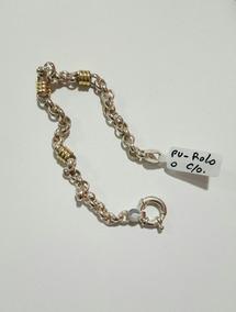 f049a3028ee5 Pulseras Plata Y Oro Para Parejas - Joyas y Bijouterie en Mercado ...