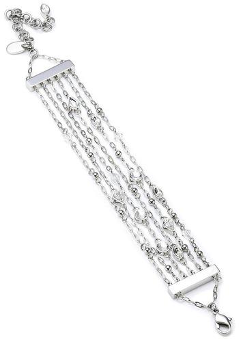 pulsera precious rain swatch bijoux plateado