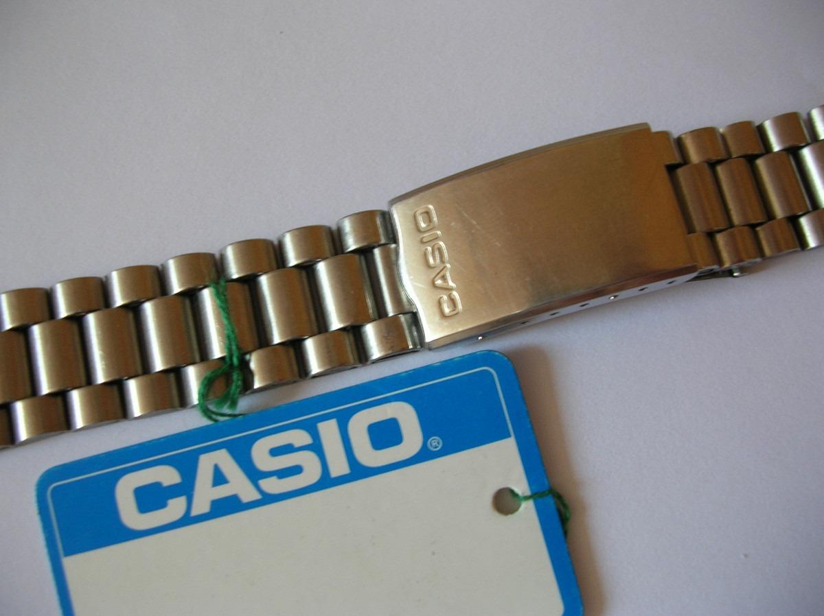 eb3781422b18 pulsera para reloj casio de acero inoxidable de 18 mm. Cargando zoom... pulsera  reloj casio. Cargando zoom.