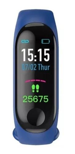 pulsera reloj deportes m3 inteligente monitor cardíaco ip67