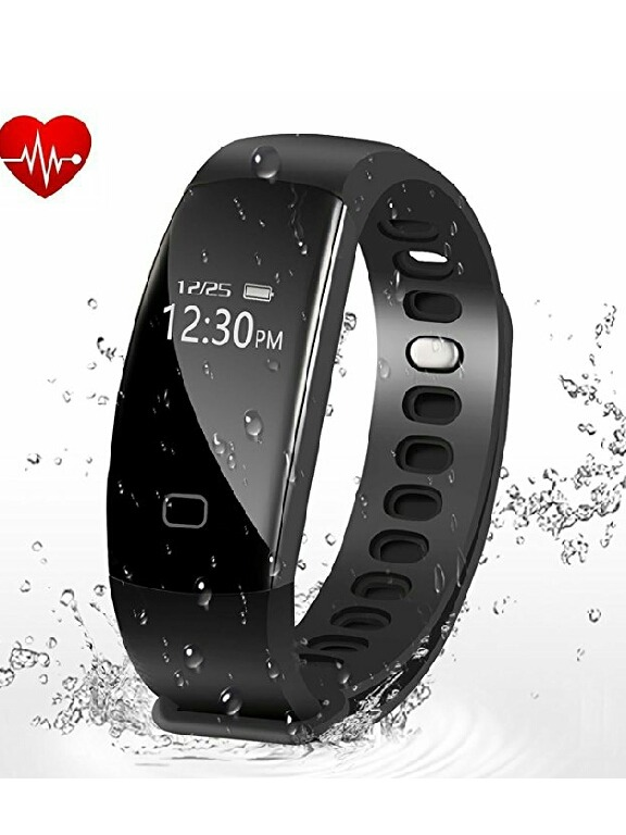 9a88216d6717 Pulsera Reloj Fitness, Pulso Cardiaco Monitor Del Sueño.