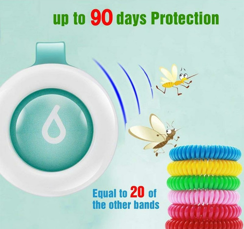 pulsera repelente de mosquitos para niños