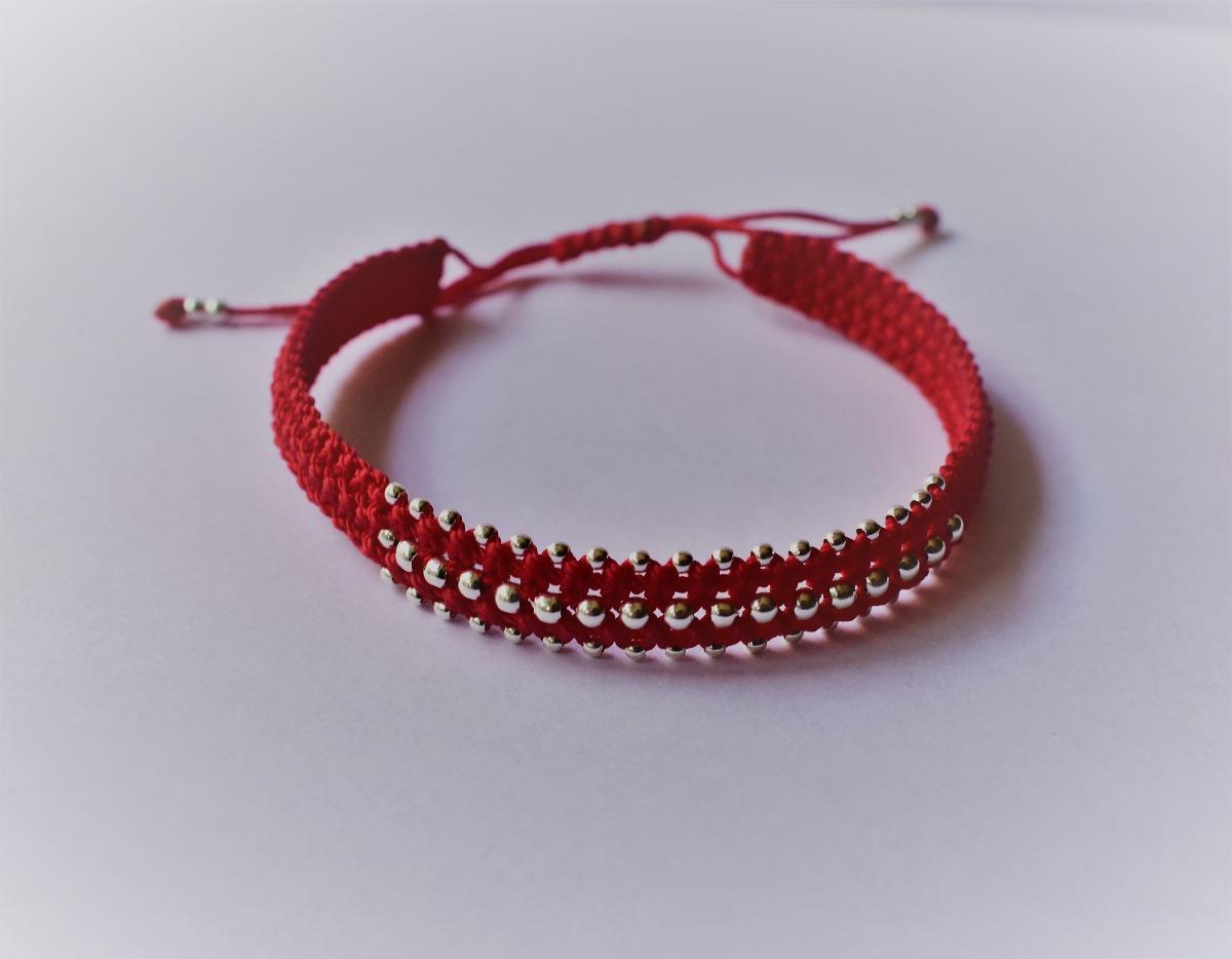 comprar real Buenos precios envío gratis Pulsera Roja Buena Suerte Hilo Rojo Y Plata 925
