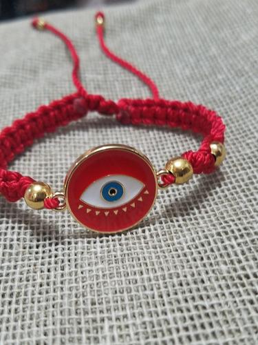 pulsera roja protección